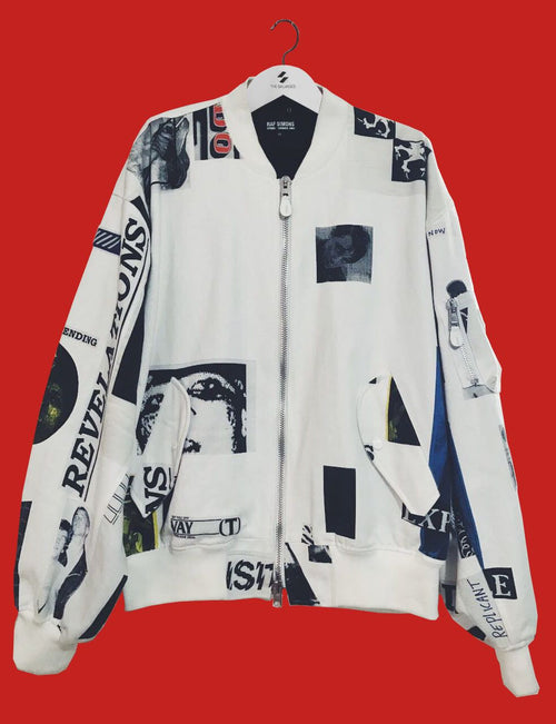 S/S03 'Consumed' Bomber Jacket by Raf Simons