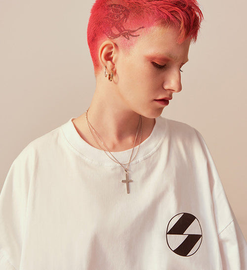 The Salvages Logo OS T-Shirt (White) Restock
