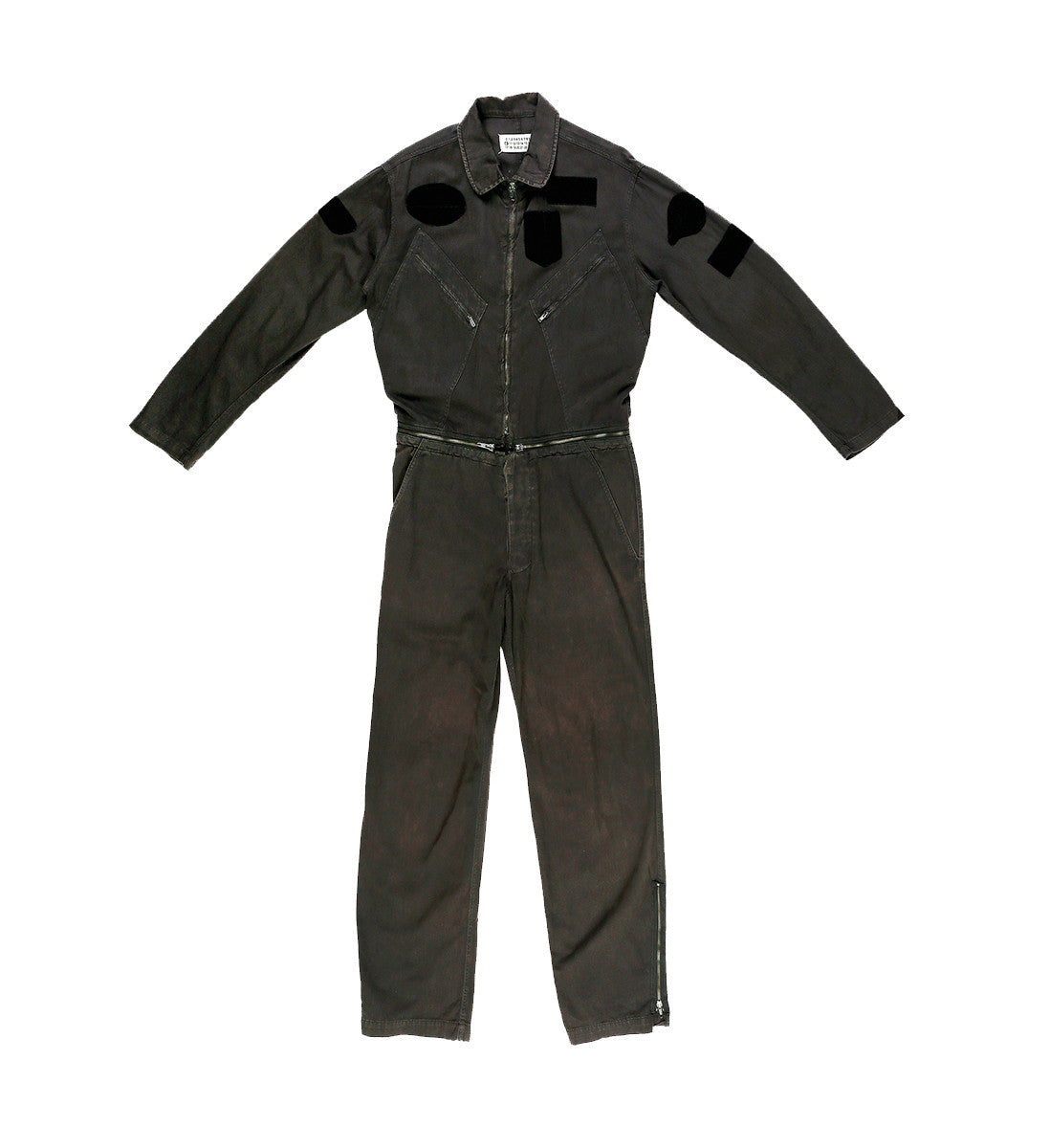 S/S02 Black Aviator Jumpsuit by Martin Margiela