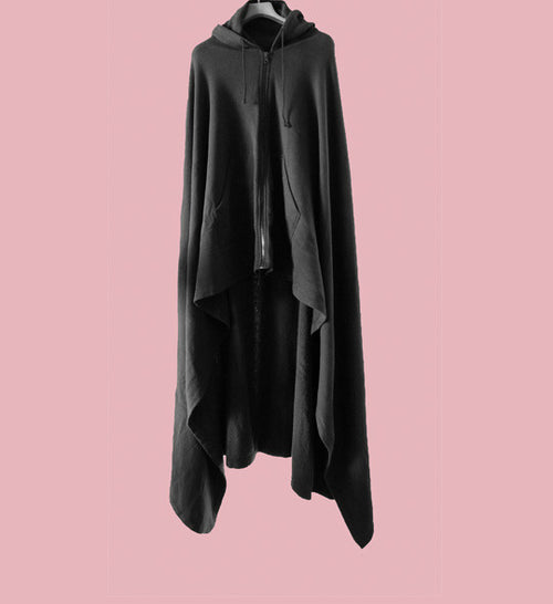 A/W04-05 'Waves' Cape Hoodie by Raf Simons