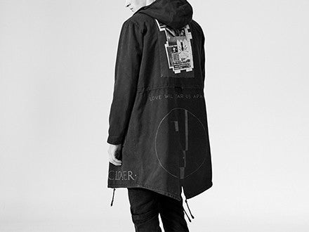A/W03-04 'Closer' Fishtail Parka by Raf Simons