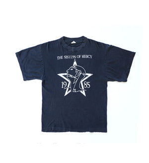Vintage Official 'The Sisters of Mercy' 1985 T-shirt by The Sisters of Mercy