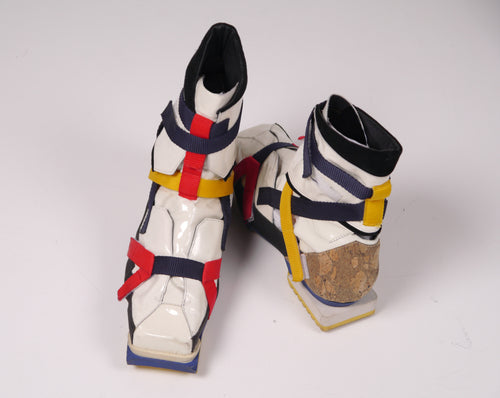 S/S08 'De Stijl' Hiking Boot by Raf Simons