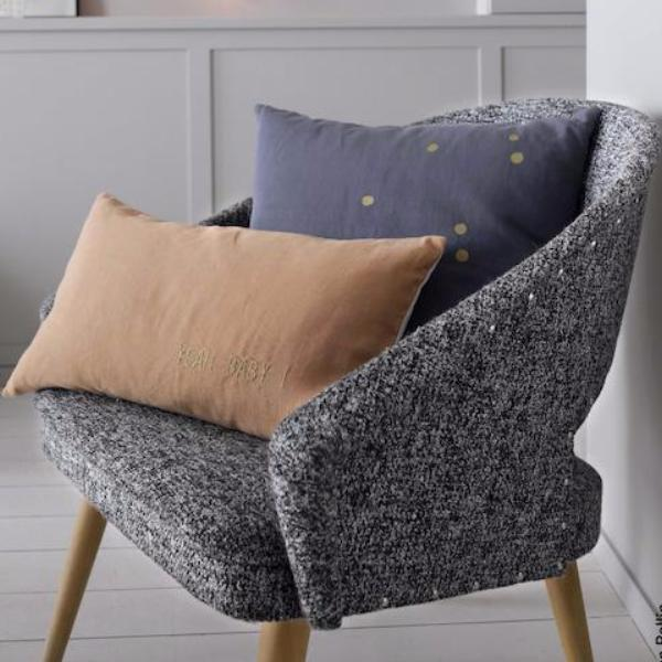 Lina Cushion Cover Sesame