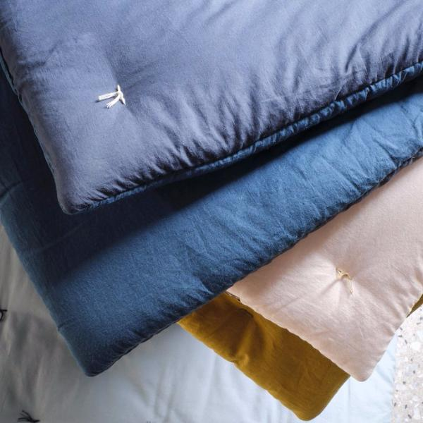 Quilted Duvet Ardoise - Peacock