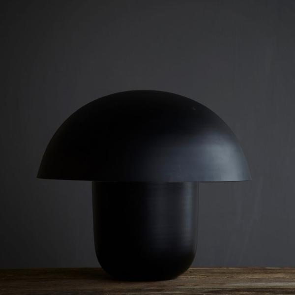 Shiitake Lamp Black