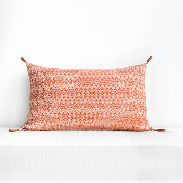 Adele Cushion Cover Terracotta Large