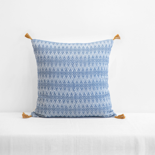 Adele Cushion Cover Blue