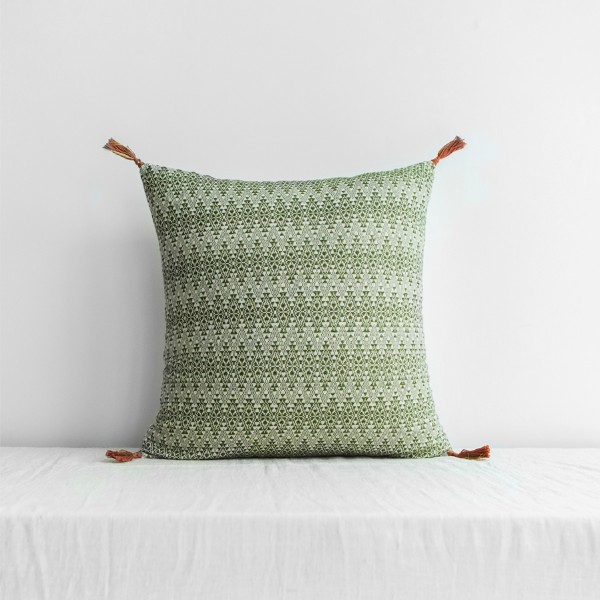 Adele Cushion Cover Khaki