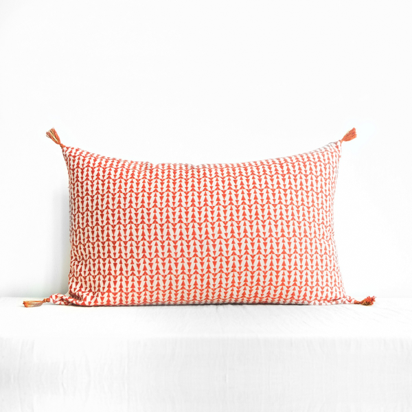 Ashu Cushion Cover Terracotta Large