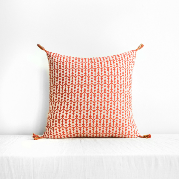 Ashu Cushion Cover Terracotta