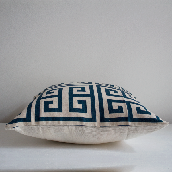 Adore Cushion Cover Teal Blue