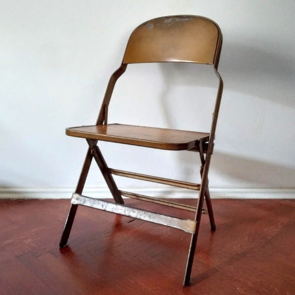 Mid-century folding chairs
