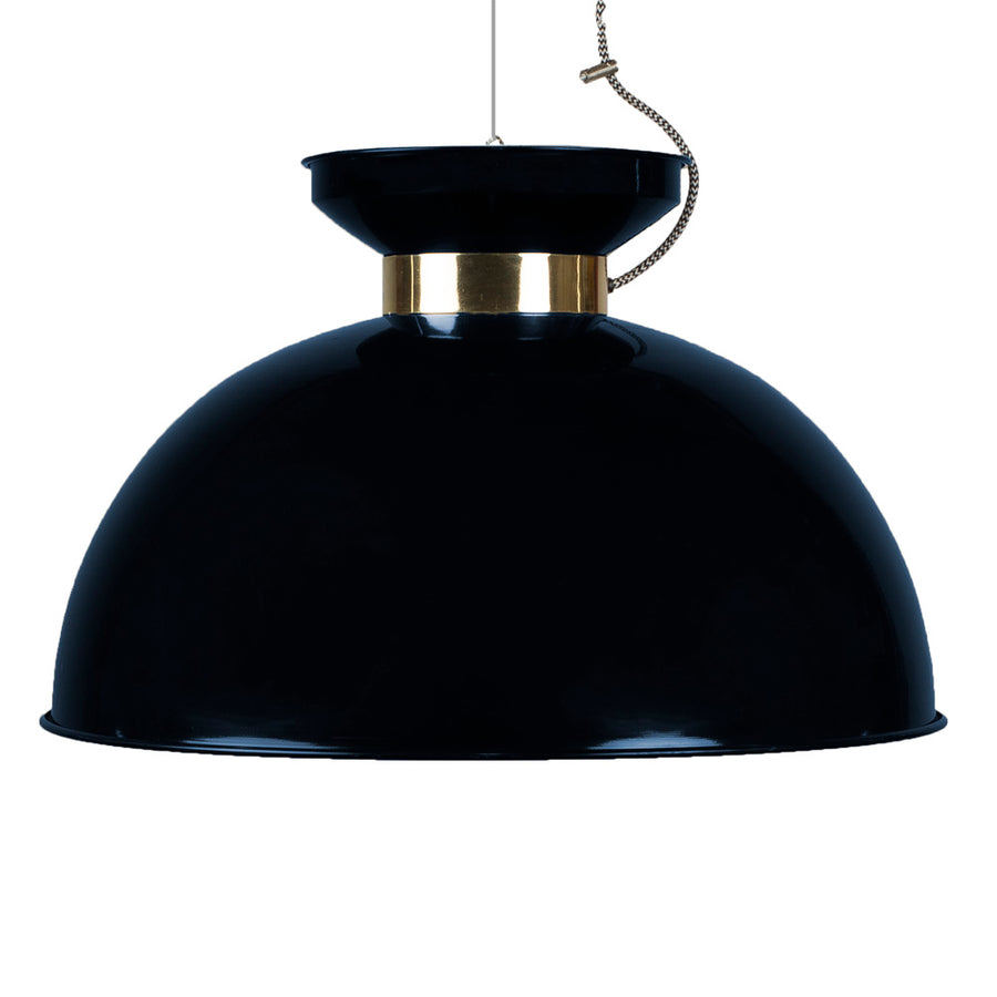 Indigo Ceiling Light Black-Blue