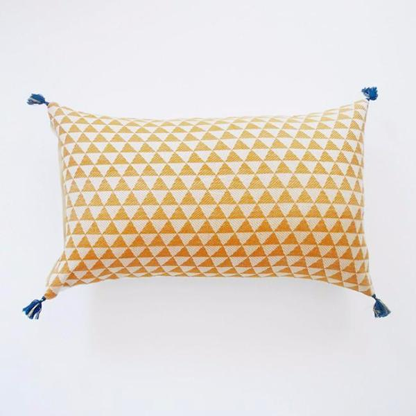 Alice Cushion Cover Mustard Large