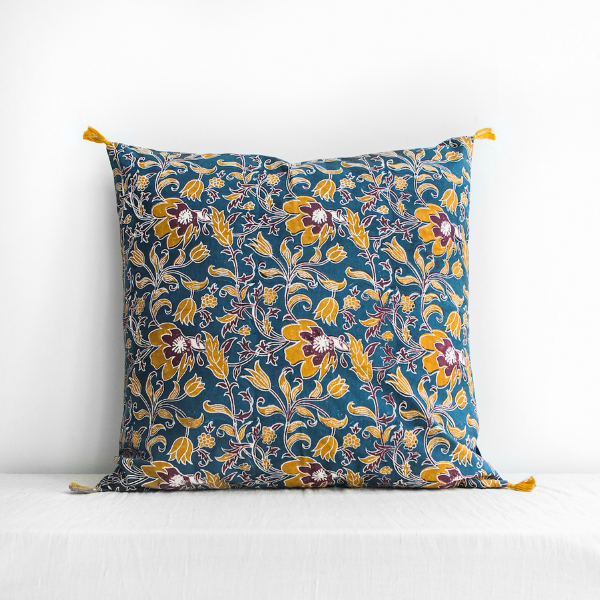 Sonali Cushion Cover Blue Large