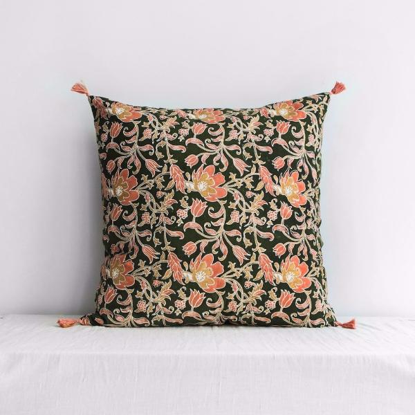 Sonali Cushion Cover Khaki Large
