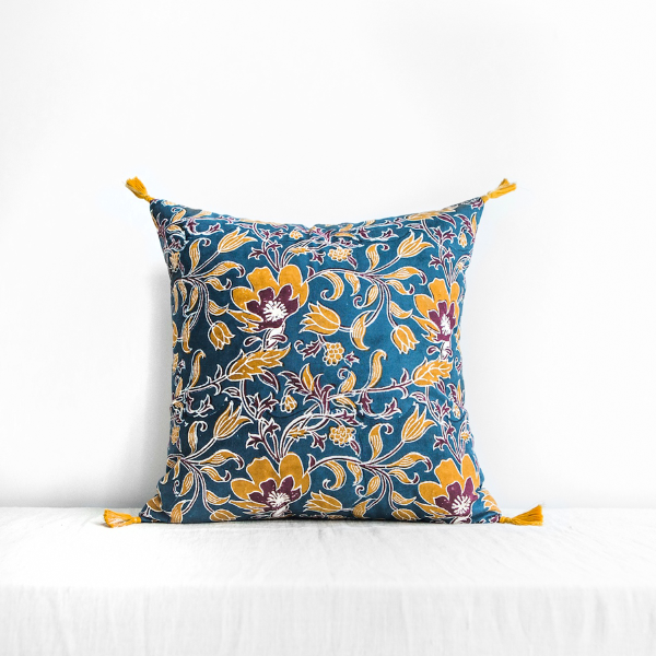 Sonali Cushion Cover Blue