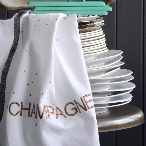 """Champagne"" Kitchen Towel"