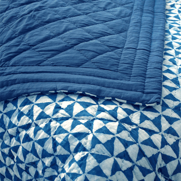 Ankit Quilted Duvet Blue