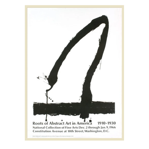 Robert Motherwell Poster (RESERVED)