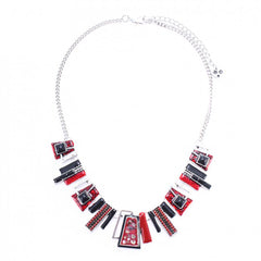 Lille Necklace Red