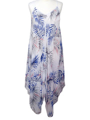 Palm Print Dress- Sundress