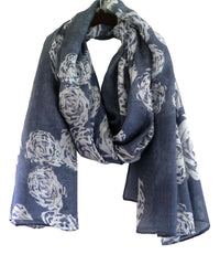 Rose Printed Scarf