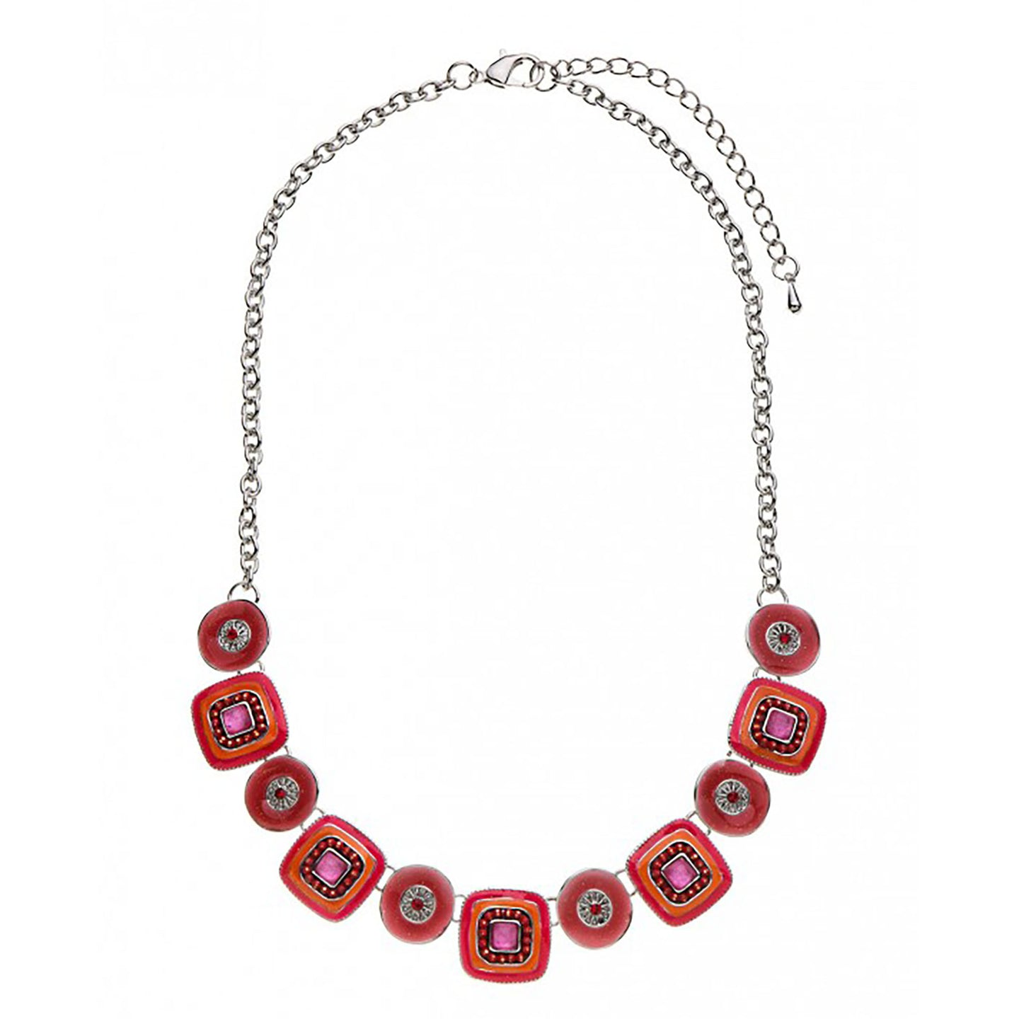 Eiffel Necklace Red
