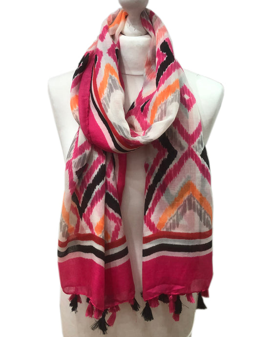 Pink Hot Diamonds Scarf