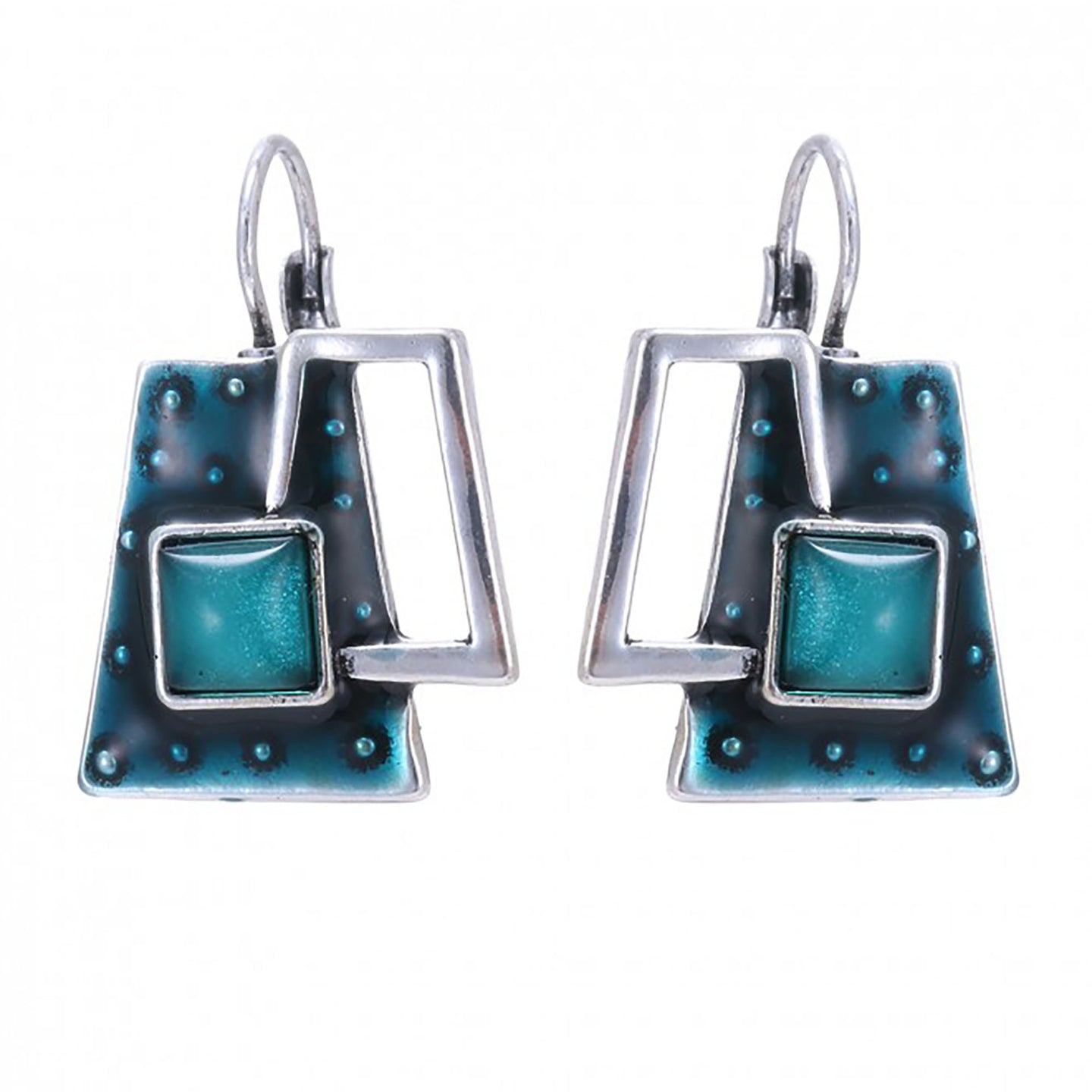 Lille Earrings in Blue