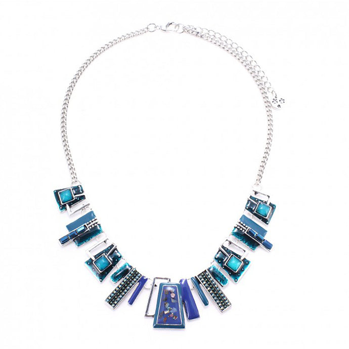 Lille Necklace in Blue
