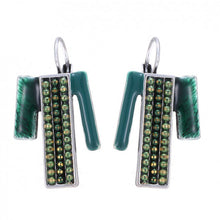 Green Lyon Earrings