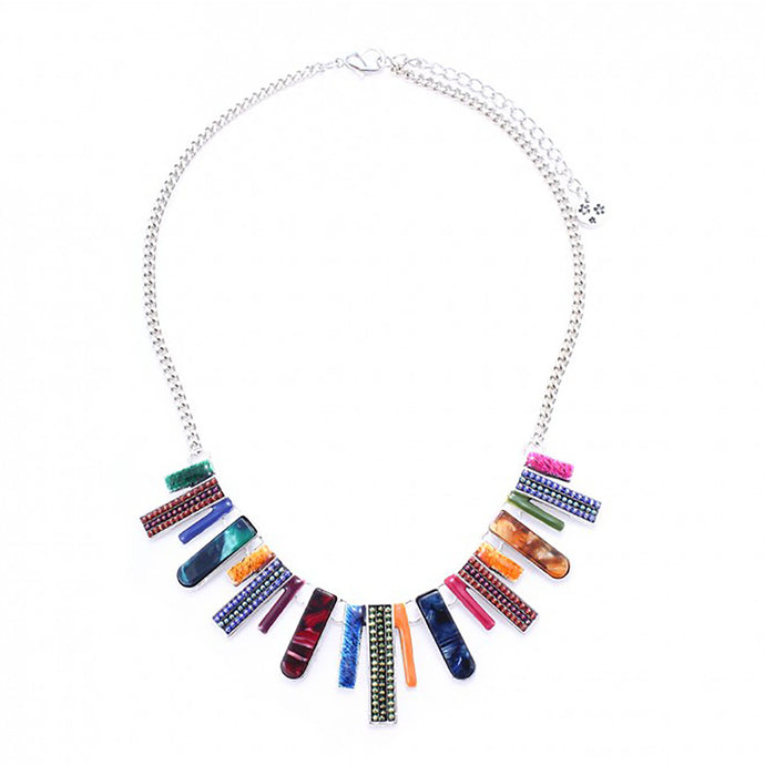 Multi-Colour Lyon Necklace