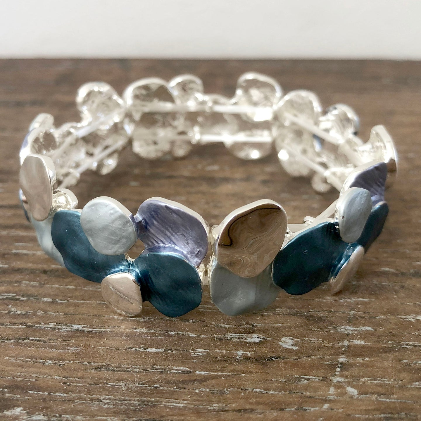 Blue Pebbles Bangle