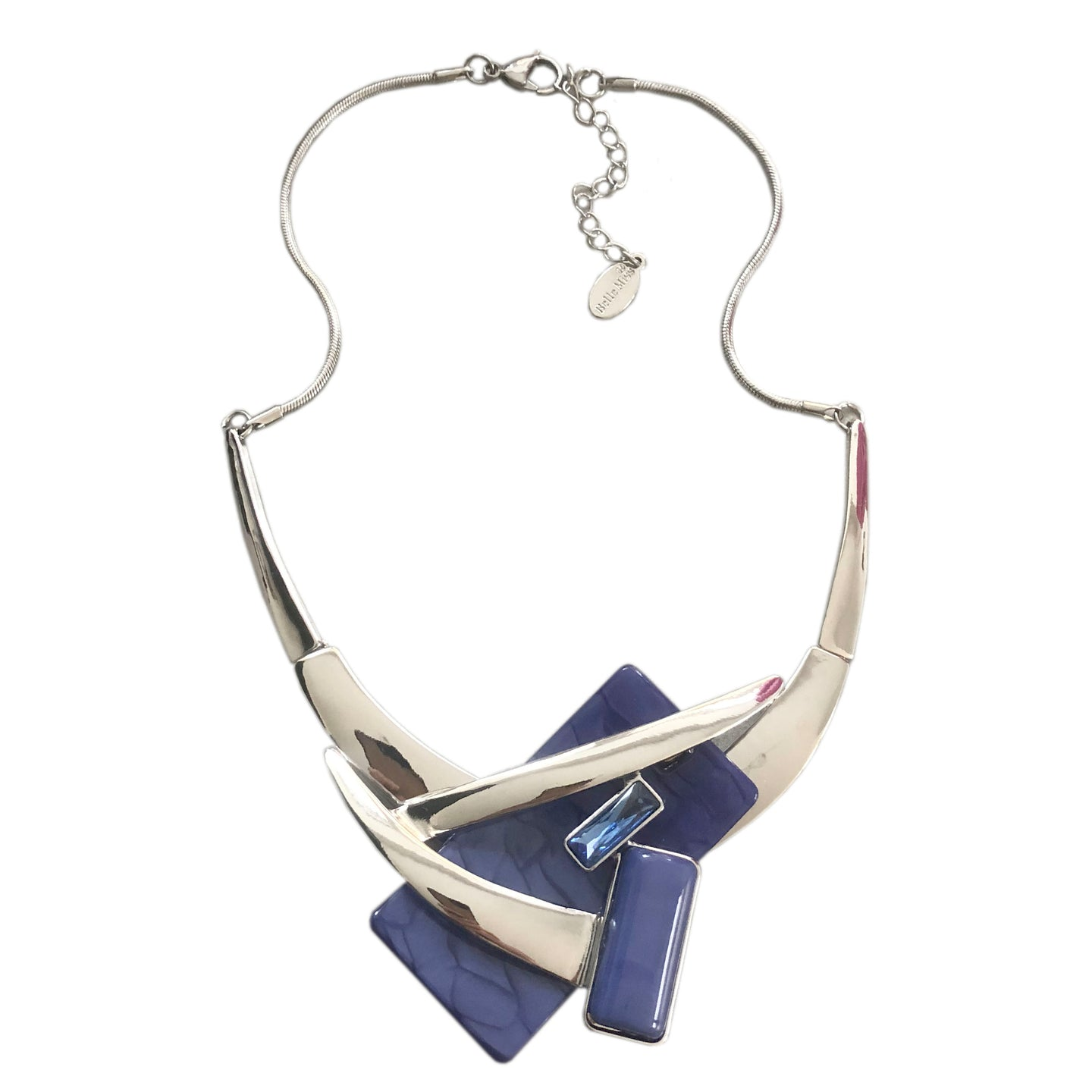 Blue Pippa Necklace