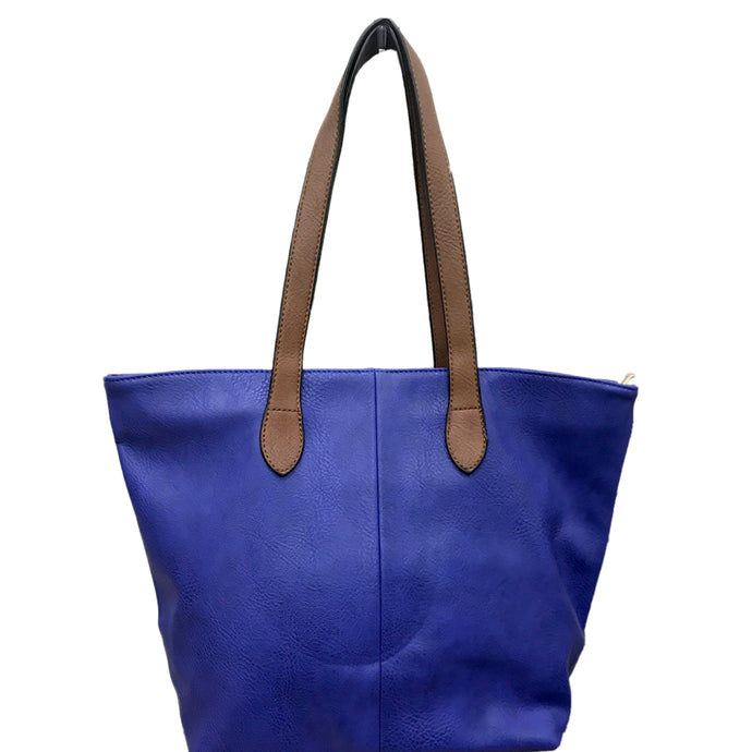 Cobalt Blue Shopper- Tote Handbag