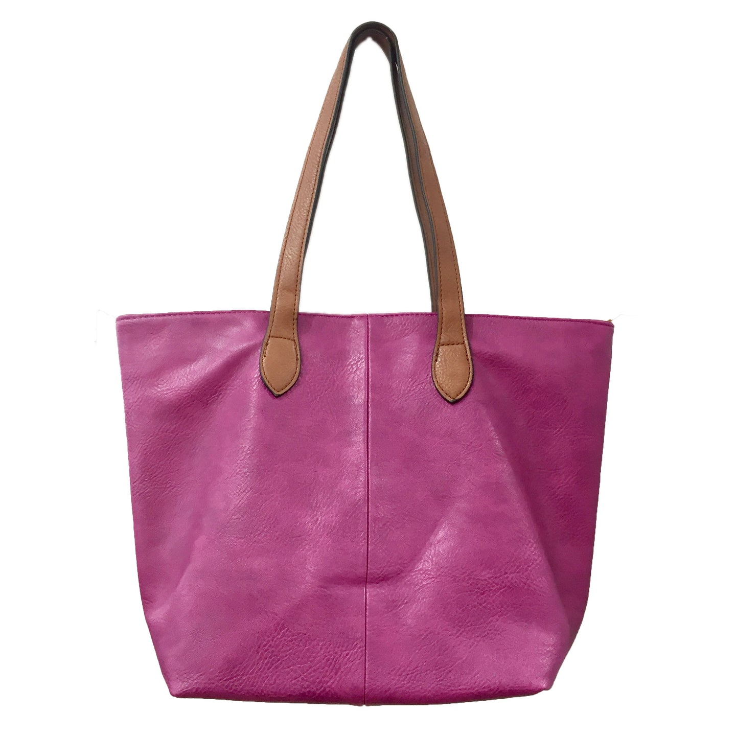 Fuchsia Shopper- Tote Handbag