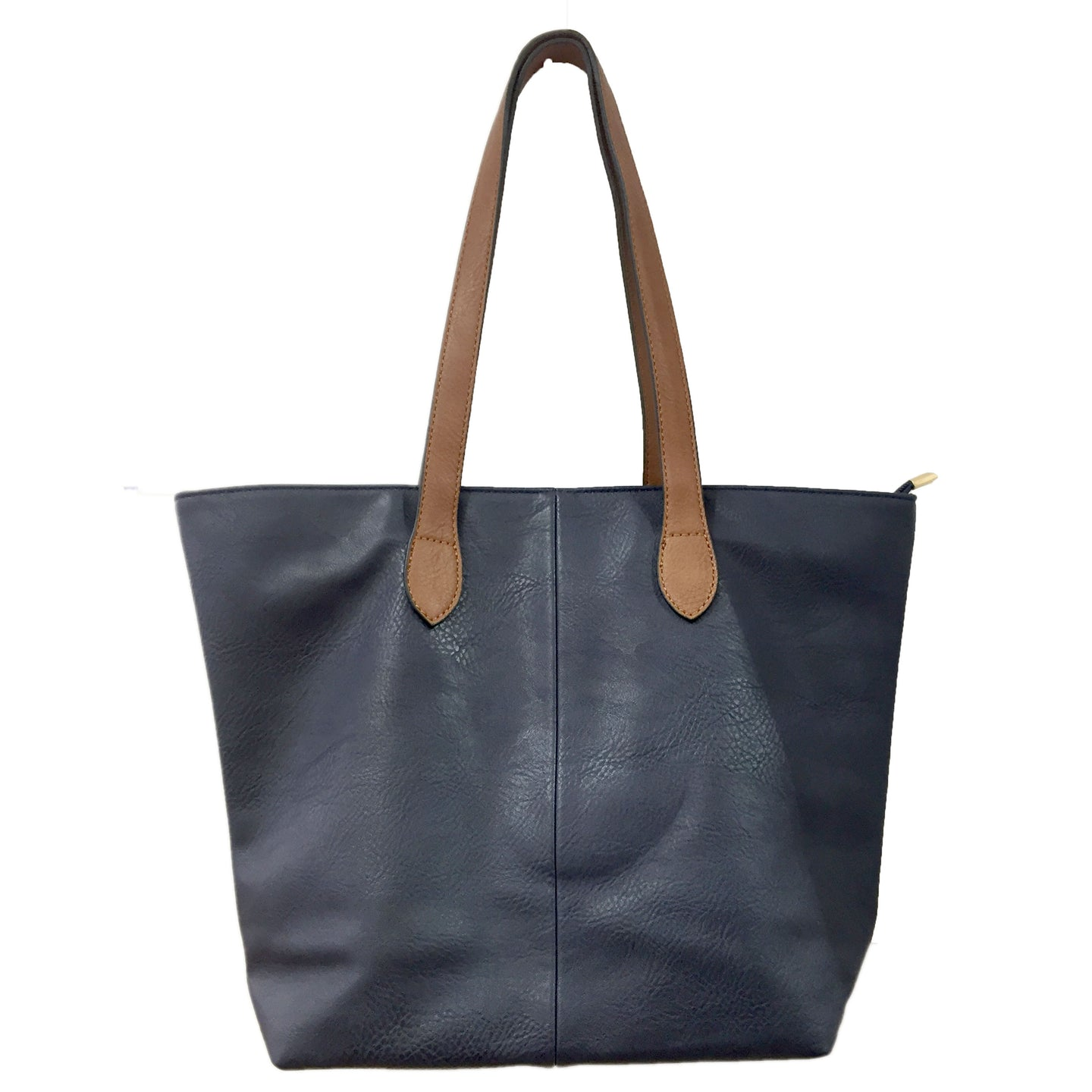 Navy Blue Shopper Bag- Tote handbag