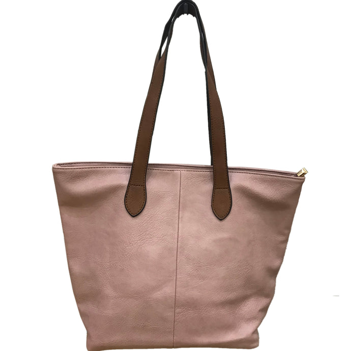 Pale Pink Shopper Bag- Tote handbag