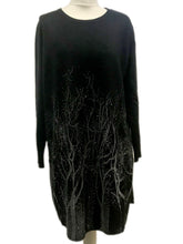 Sparkly Tree Dress Black