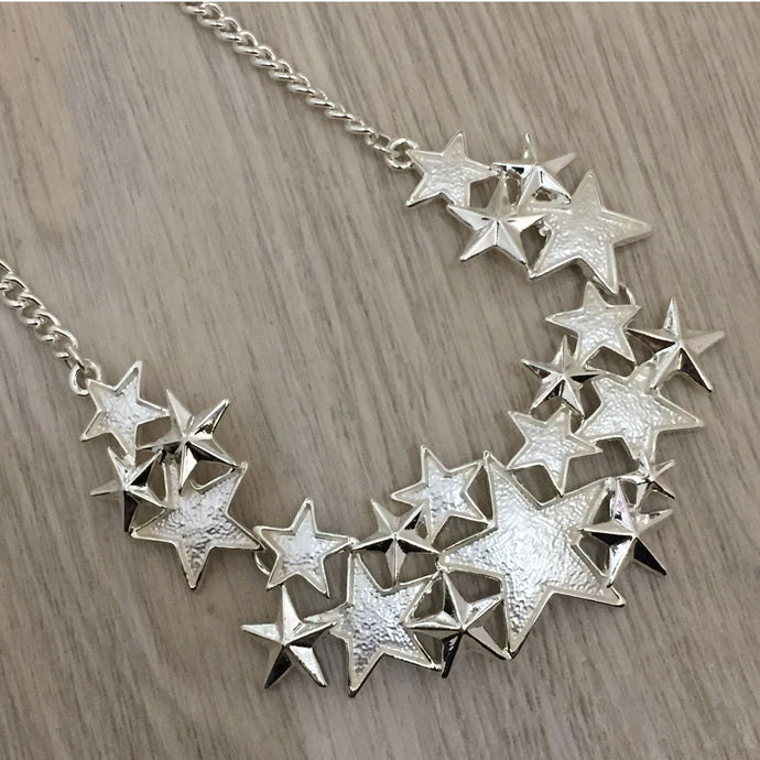 Stellar Silver Star Necklace