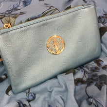 Silver Tree of Life Clutch Bag