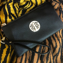 Black Tree of Life Clutch Bag