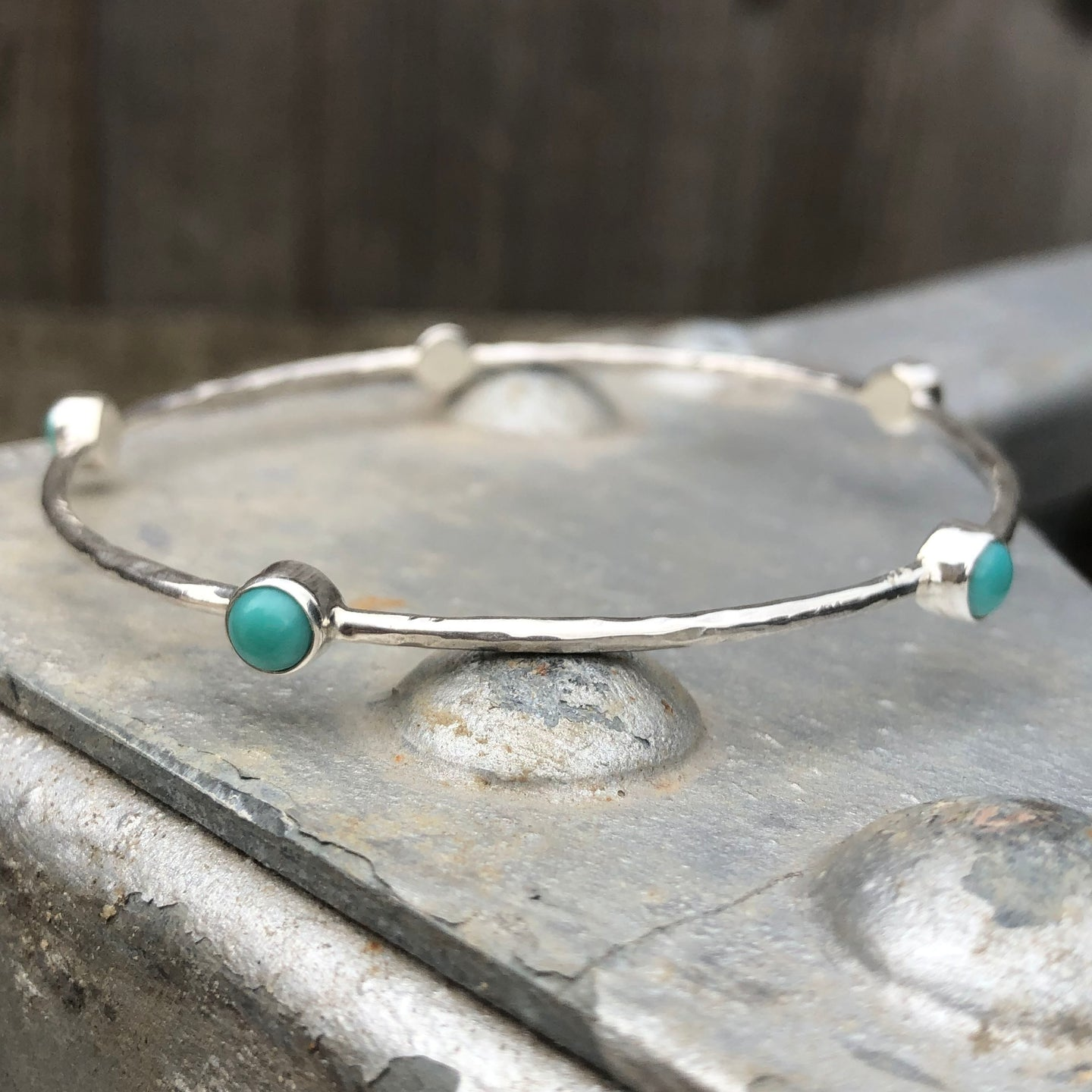 Turquoise Sterling Silver Bangle