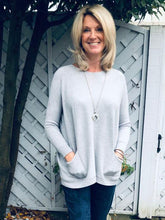 Grey Pocket Top