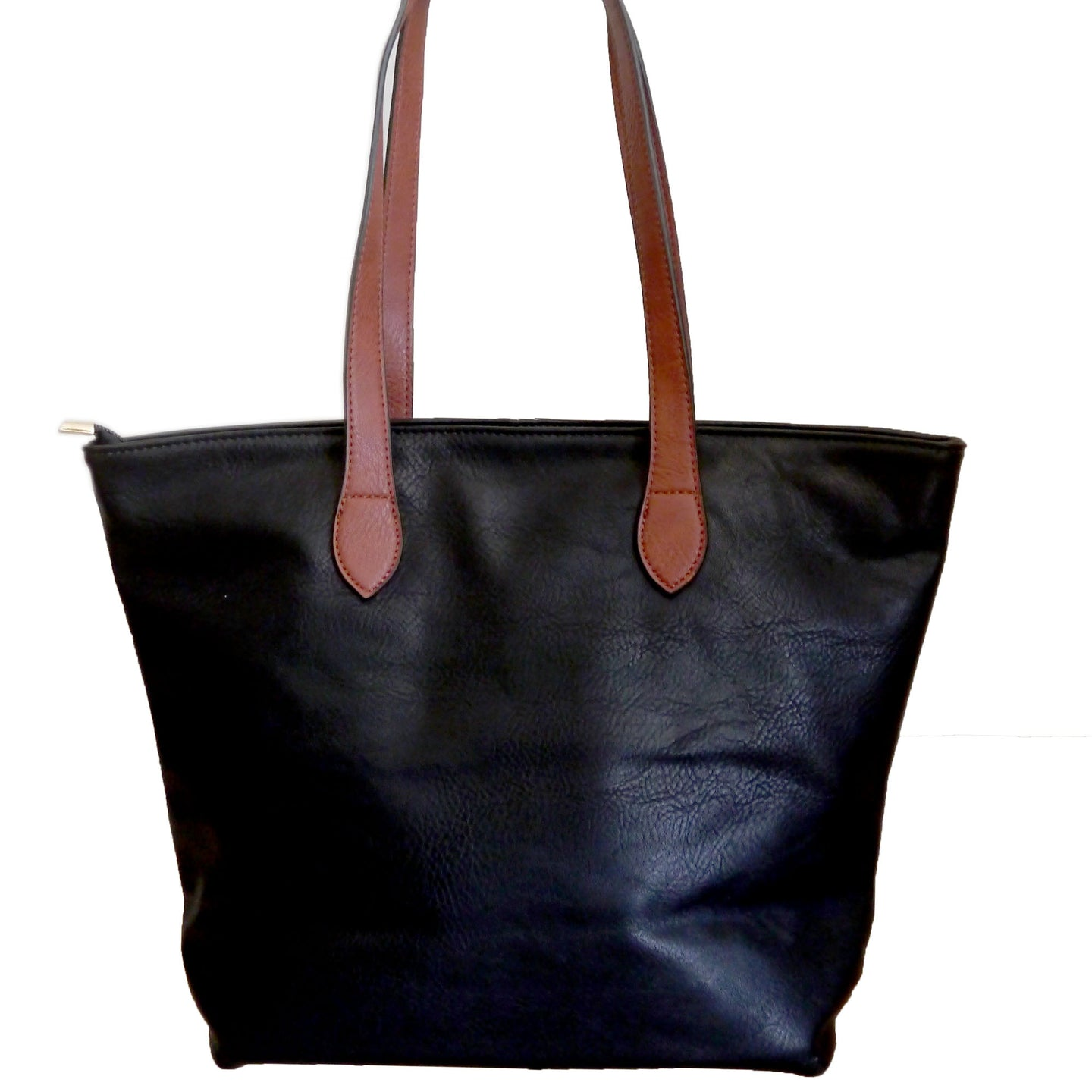 Black Shopper Bag- Tote handbag