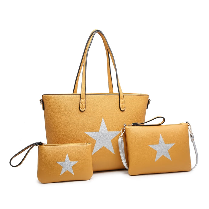 Mustard Star 3in1 Handbag