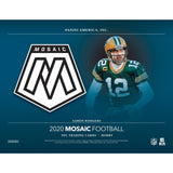 2020 Mosaic Football - 6 Box Half Case #2 - EVOLVED (random team pool)