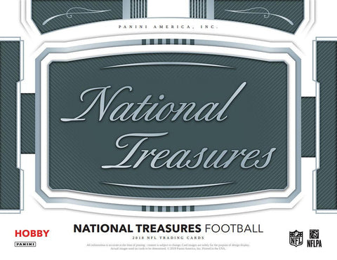 *NEW* 2018 National Treasures Football - 4 Box Case #3 (PYT Evolution Style)
